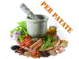 Erbe aromatiche per condimento Patate biologiche