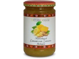 Marmellata di Limoni e Zenzero con zucchero di canna biologica 370gr