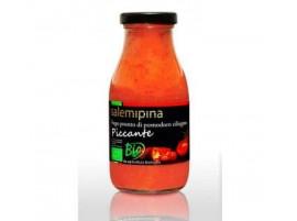 Salsa pronta da Pomodoro Ciliegino piccante biologico