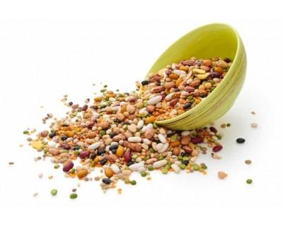 Minestra di legumi e riso biologica
